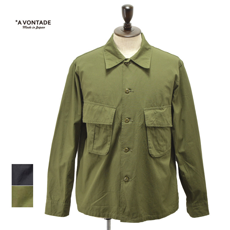 【SALE】メンズ/A VONTADE【ア ボンタージ】 VTD-0409-JK Combat Tropical Short Jacket【正規取扱】20s
