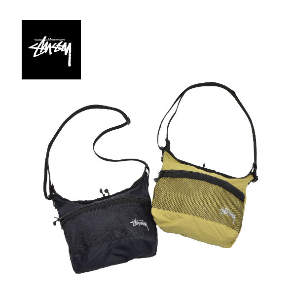 【SALE】STUSSY【ステューシー】134212 LIGHT WEIGHT SHOULDER BAG【正規取扱】20s